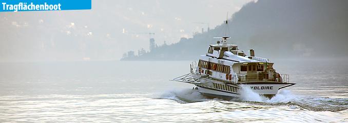 Die Schifffahrt am Comer See