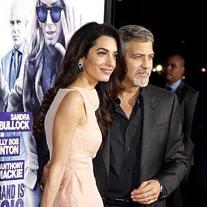 Amal Und George Clooney Am Comer See Comer See