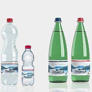 Bild zeigt das Chiarella Mineralwasser