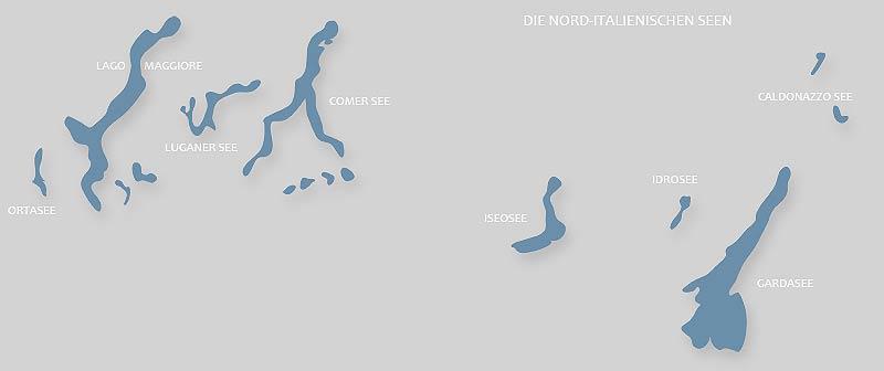 nord-italienische Seen