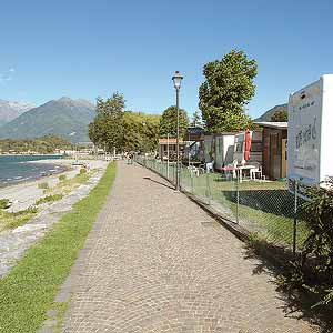 Camping am Comer See
