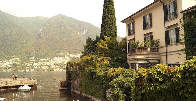Die villa Oleandra von George und Amal Clooney
