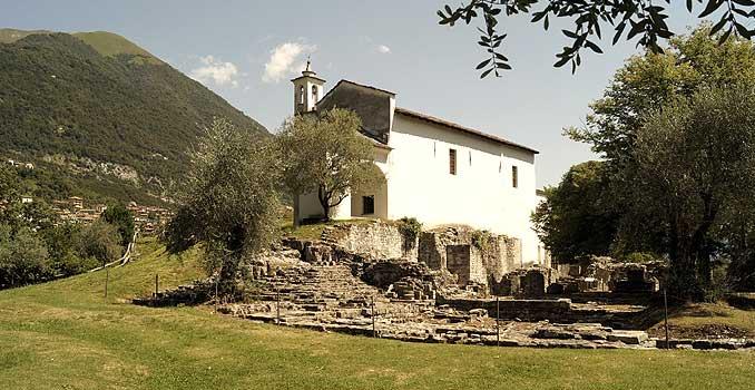 Bild zeigt die Isola Comacina