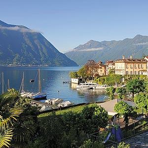 Lago di Como in Italien